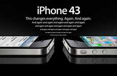 Apple-Mocking Campaigns - This iPhone 4 Parody Features a Series of Ads Playing Off Brand Slogan