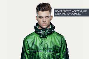 The Stone Island Heat Reactive Jacket Changes Color With Your Body Heat