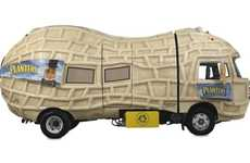 Nutty Peanut Automobiles - The Planters NutMobile is one Nutty Eco-Friendly Ride