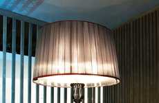 Oversized Lampshade Furnishing
