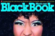 The Nicki Minaj Black Book Magazine Cover is Bold & Bright
