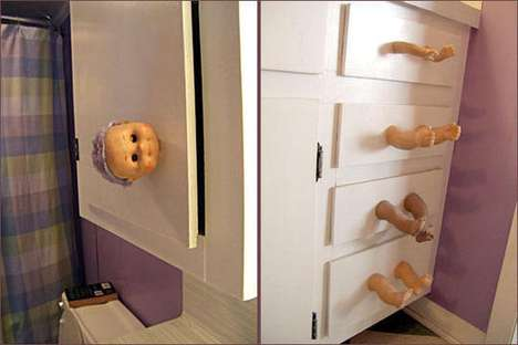 Arm-Filled Armoires - The Disturbing Doll Drawer is Perfect for the Twisted at Heart