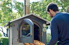 Authentic Cooking Appliances - The Fontana Gusto Wood-Fired Outdoor Oven is for the Classic Cook
