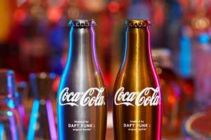 """Drink """"Da Funk"""" With the New Daft Punk Coca-Cola Bottles"""