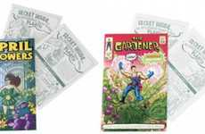 Plantable Comic Books - The Gardener is a Caped Eco-Crusader Who Becomes Herbs When Planted