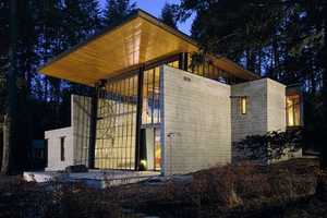 The Chicken Point Cabin by Olson Kundig Architects is Astounding