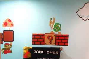 The Super Mario Bros Bathroom is a Tribute to the Little Plumber
