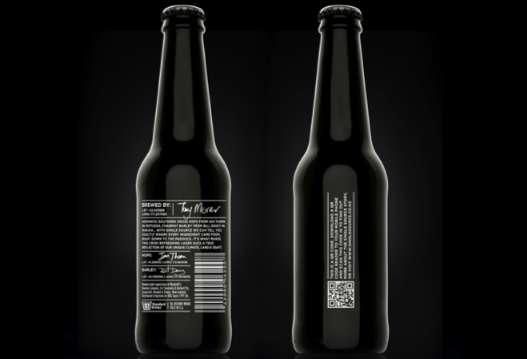 Elegant Ebony Beer Branding