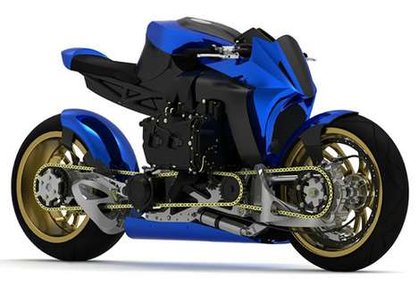 Insane Diesel Superbikes - The Ian McElroy Kickboxer Redesign is Intensely Powerful