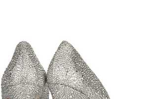 Swarovski Christian Louboutins are Classy Couture Bling