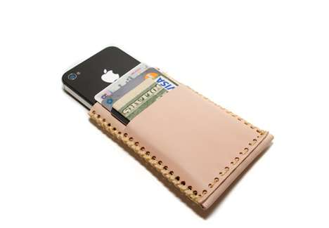Handmade iPhone Cases - Draught Dray Goods Crafts Multiple Leather Accessories