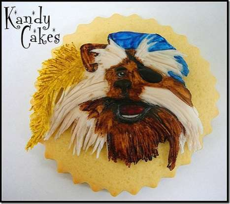 Labyrinth cookies