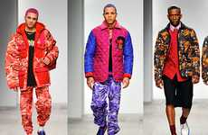 Intensely Vibrant Menswear