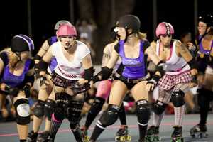 The Hugh Hamilton Roller Derby Photo Series Has Serious Attitude