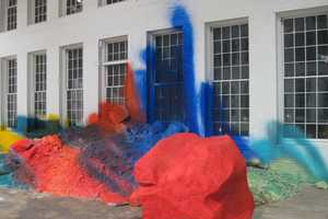 Katharina Grosse's Giant Installations are a Vivid Display of Color