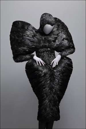 Eccentric Fashion Exhibits - The Alexander Mcqueen Savage Beauty Art Show is Bold