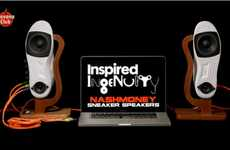 Sneaker Sound Systems - The Nashmoney Sneaker Speakers for Inspired Ingenuity