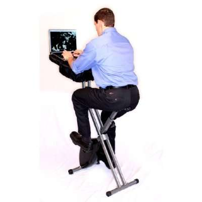 Office-Ready Exercise Equipment - The FitDesk Lets You Surf While You You Work Out