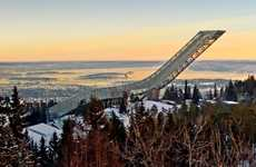 Suicidal Ski Jumps (UPDATE) - Norway's Holmenkollen Ski Jump Could Host Jumps as Big as 140 Meters