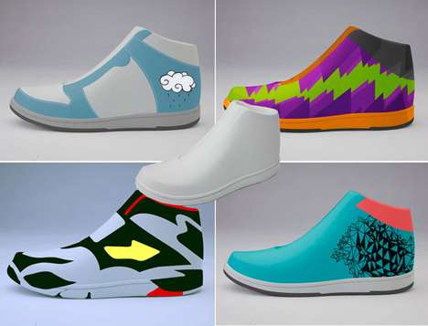 Customizable Shoe Toys - The Delroy Dennisur Stance Project Brings DIY Artistry to Sneaker Culture