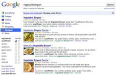 Culinary Search Engines - Google Recipe Search Eliminates the Need for a Cookbook