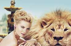 Kirsten Dunst is Red-Hot for the Bulgari Mon Jasmin Noir Print Ads