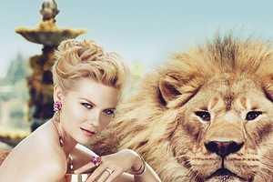 Kirsten Dunst is Red-Hot for the Bulgari Mon Jasmin Noir Print Ads