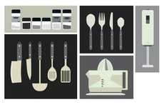 Esteve Padilla Creates Kitchen Utensil Illustrations