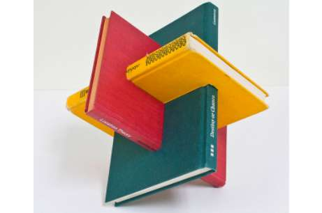 Consolidated Novel Sculptures - The Gareth Spor Borromean Study Intermingles Books