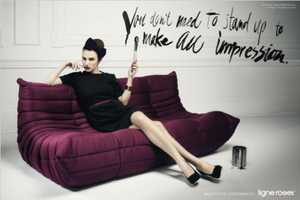 These Ligne Roset Furniture Ads Offer Insightful New Outlook