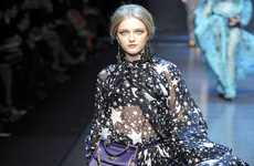 Dolce & Gabbana Shines With Stars for Fall 2011