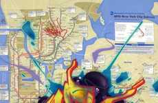 Graffiti Map Makeovers