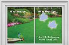 The WindowAlert Window Stickers Warn Birds to be Wary
