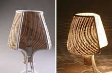 Locally Designed Lamps - Gil Sheffi has Made This Interesting Local Material Lamp