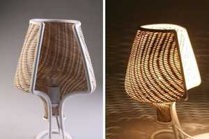 Gil Sheffi has Made This Interesting Local Material Lamp