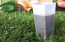 Eco-Origami Coffee Cups - Coffree Biodegradable Brew Eliminates a Cup of Waste a Day