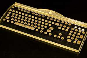 The Opulent Datamancer New Yorker Art Deco Keyboard