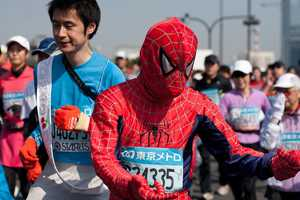 The 2011 Tokyo Marathon Runners Dress Up Like It's Halloween