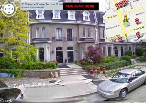 Customized Zombie Games - Street View Zombie Apocalypse by Mike Lacher has Fun With Google Maps