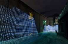 Urban Wifi Landscapes - Light Painting WiFi Takes Turns Internet Ports Around the City Into Art