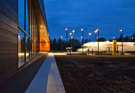 Warroad Land Port of Entry by Julie Snow Architects