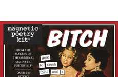 The Magnetic Poetry Bitch Kit Helps Release Your Inner Gripes