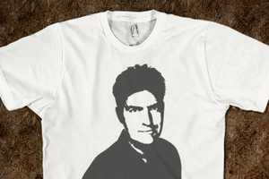 Skreened Supports Charlie Sheen by Selling a Hilarious Line of T-Shirts