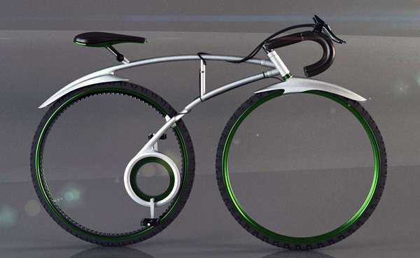 TRON-Inspired Track Bikes