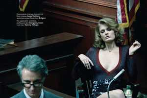 The Glam Constance Jablonski Vogue Russia March 2011 Editorial