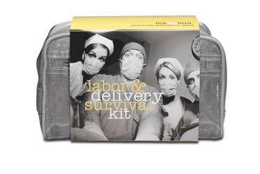 Baby Birthing Supplies - The Ms. & Mrs. Labor & Delivery Survival Kit is for Parents-to-Be
