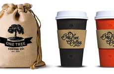 Vintage Coffee Branding - One Tree Coffee Co Gets a Brand Boost From Boheem