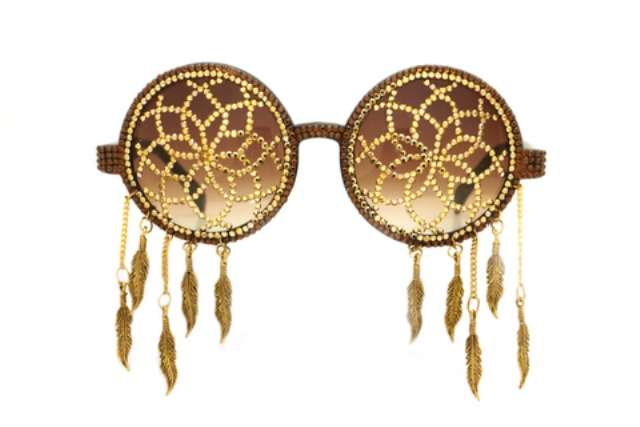 Golden Tribal Sunnies