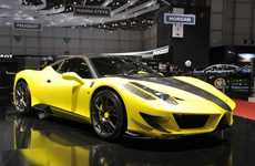 Speedy Supercar Redesigns - The Mansory Siracusa is a Hot Revamped Version of the Ferrari 458 Italia