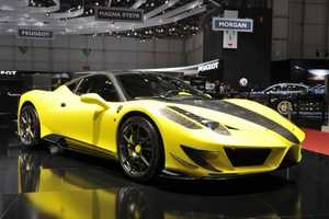 The Mansory Siracusa is a Hot Revamped Version of the Ferrari 458 Italia